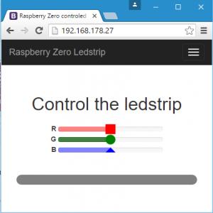 Control Ledstrip