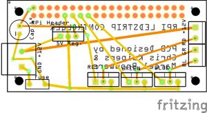 RPi-Zero Ledstrip V2.0_pcb